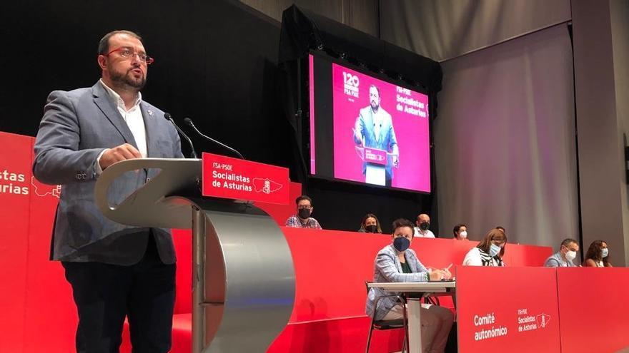 Barbón quiere acordar la concertación para que le dé fuerza en la negociación del Presupuesto de 2022