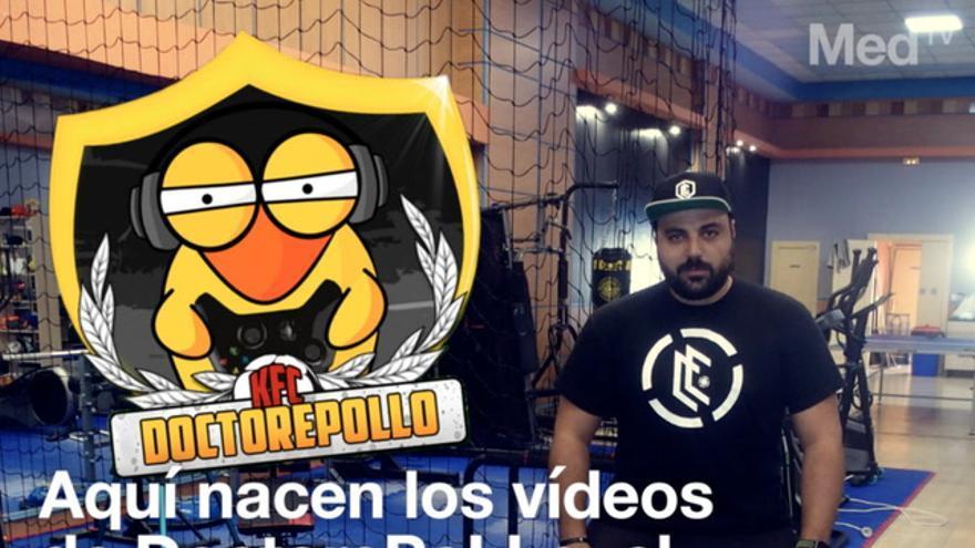 Aquí se gestan los vídeos de DoctorePoLLo, el youtuber de Castellón
