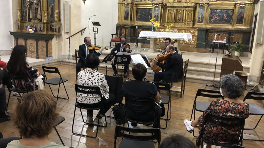 El Cuarteto Clásico de Córdoba ofrece un recital en el convento de San José de Toro