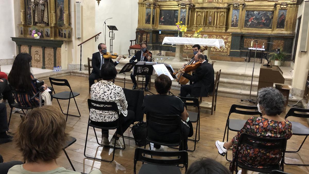 Concierto del Cuarteto Clásico de Córdoba en Toro.