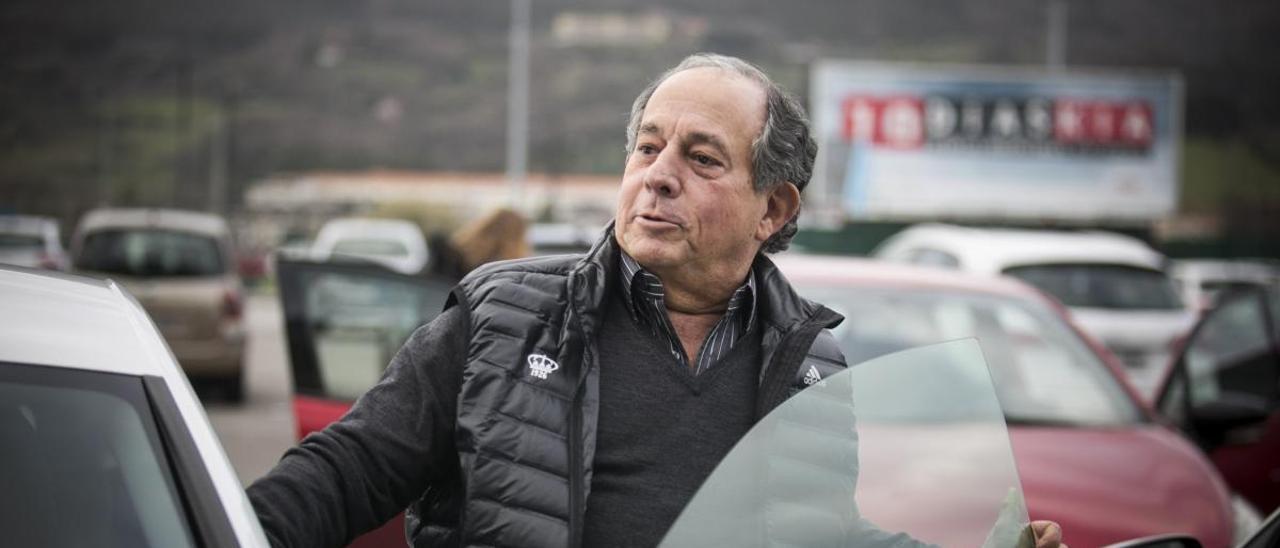 Federico González, en el Tartiere