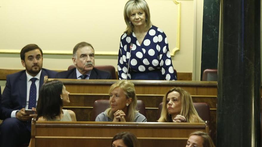 Elvira Velasco toma posesión como diputada por Zamora