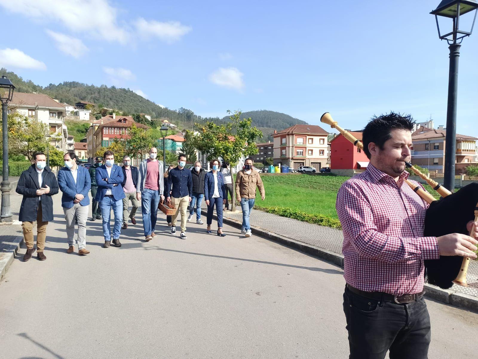 Subasta del campanu de Asturias en Cornellana