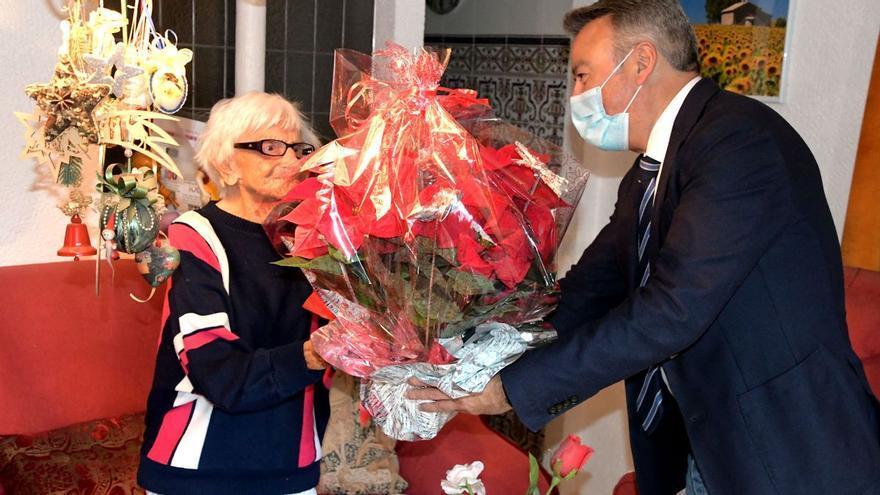 Rosa María Schaller, la vecina de Xàbia de 107 años que ha vivido dos guerras mundiales y una pandemia