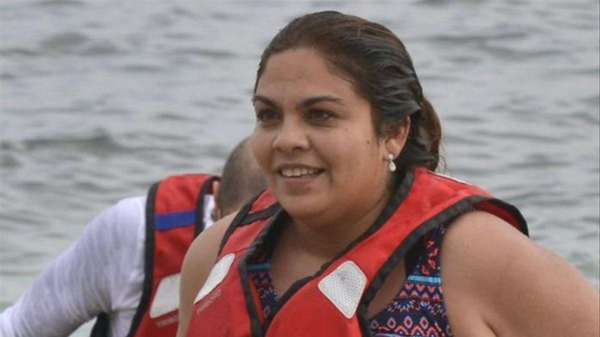 La concursante de 'Supervivientes 2018' Saray Montoya.