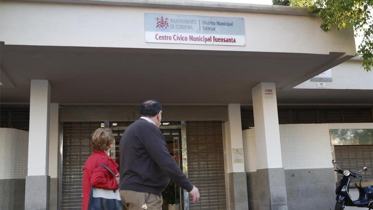 Fachada del centro cívico de la Fuensanta.