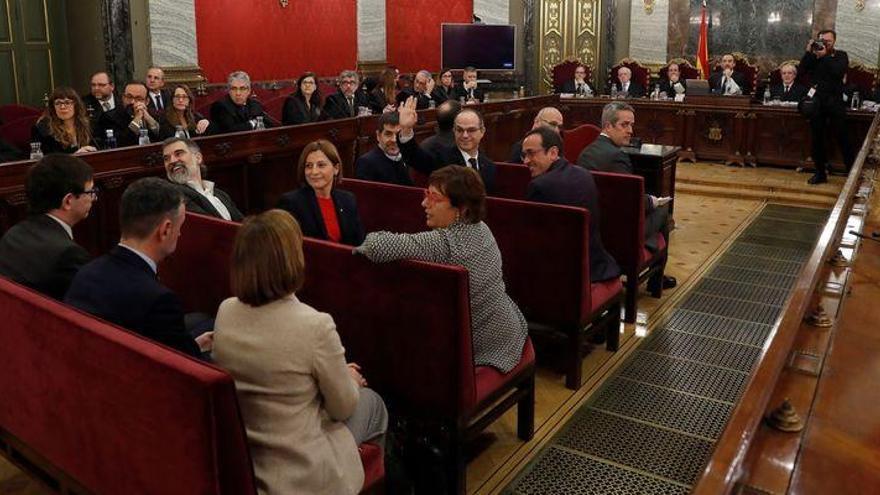 """Comienza el juicio del """"procés"""" en el Tribunal Supremo"""