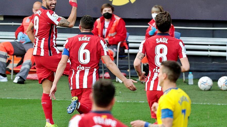 El Atlético de Madrid se dispara hacia el título