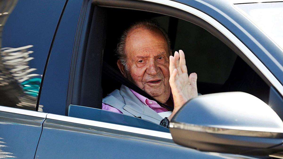 El rey emérito Juan Carlos I en una imagen de archivo.