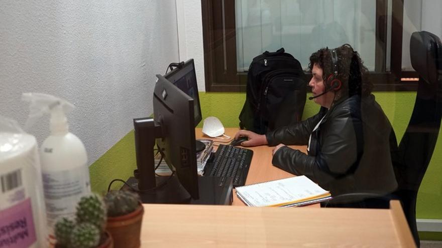 Un aula en línea permite estudiar a los alumnos que no pueden desplazarse