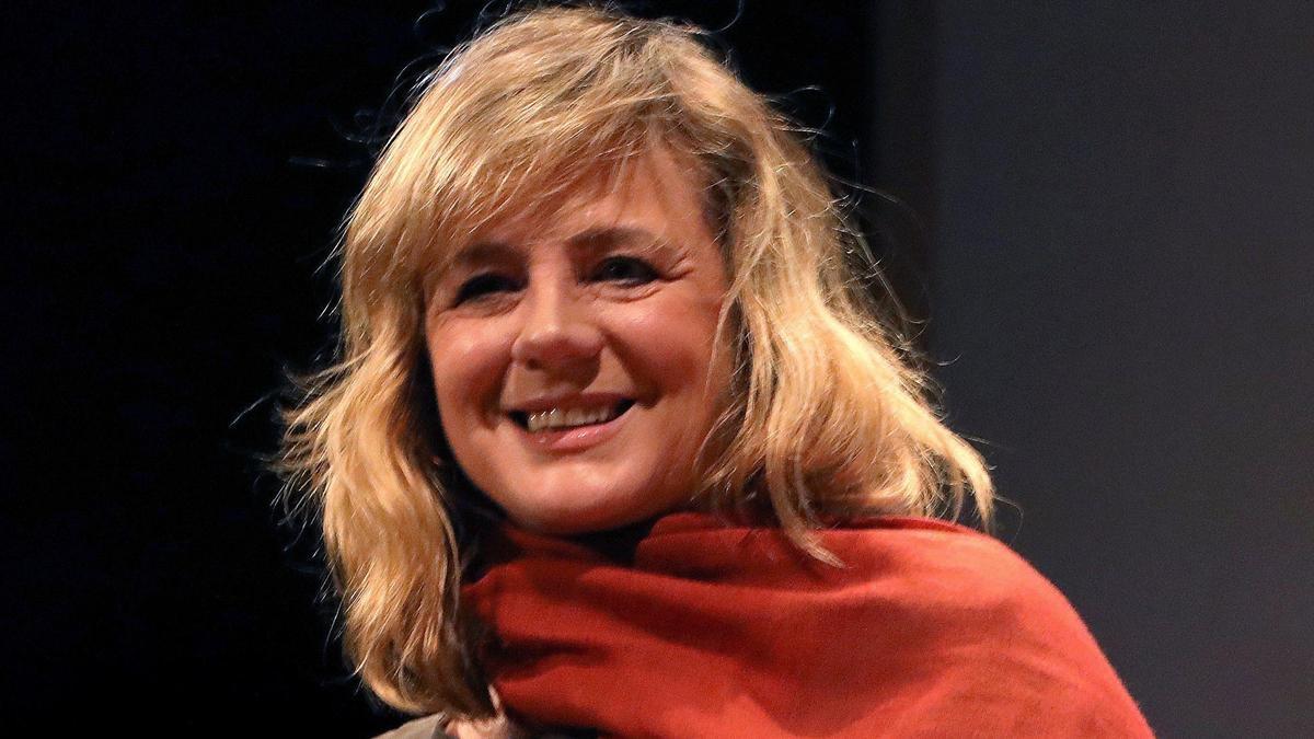 La actriz Enma Suárez.