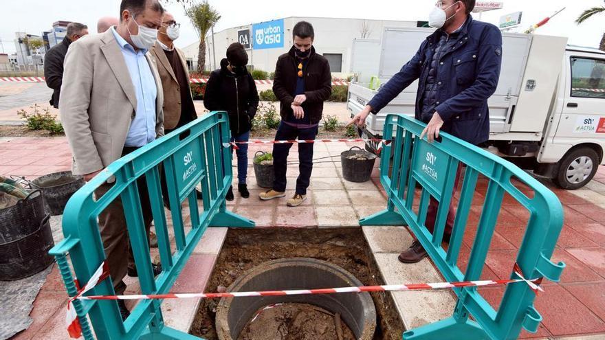 Instalan un sistema para evitar que las raíces levanten las aceras de las calles