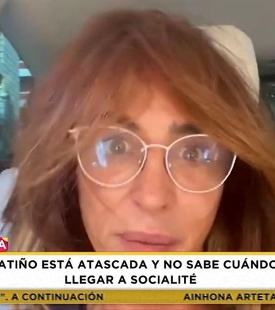 """Sale a la luz el motivo por el que María Patiño ha presentado Socialité con ese look: """"Estoy bien"""""""