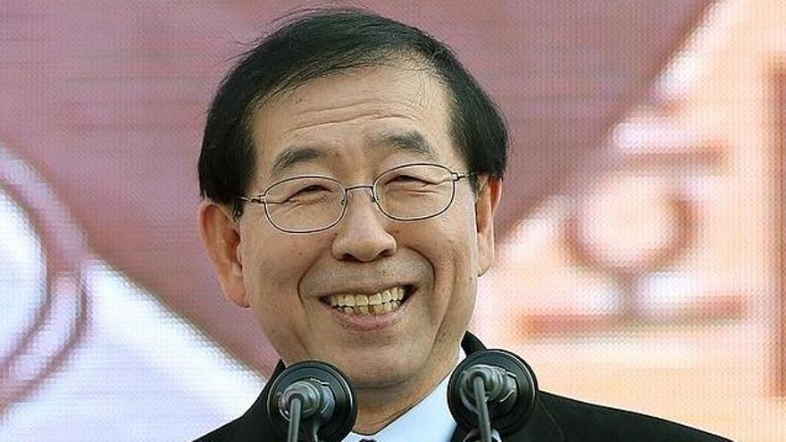 Desaparece el alcalde de Seúl, Park Won-soon