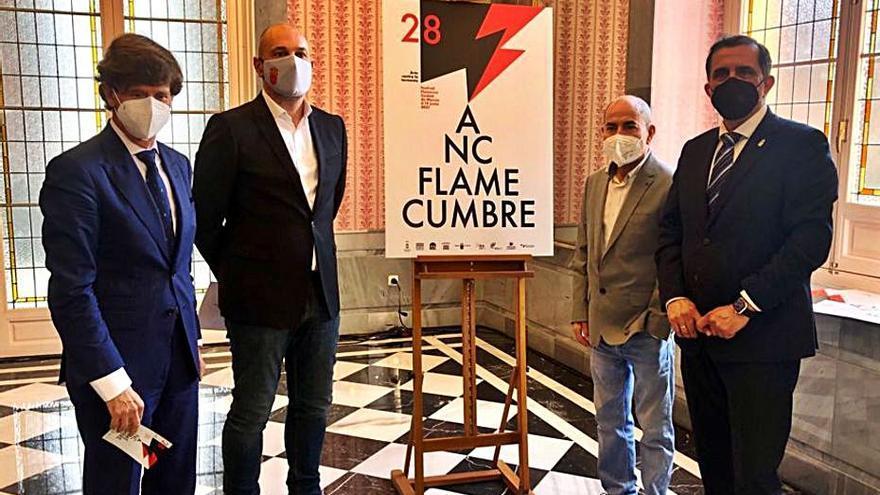 Arcángel y El Pele, protagonistas de la Cumbre Flamenca de Murcia