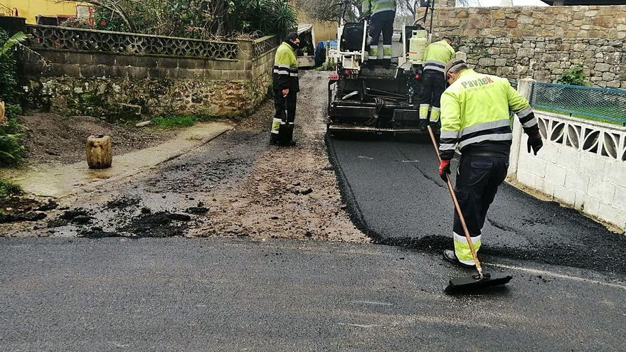 Finaliza la obra de mejora de viales en Santa Mera (Villaviciosa)
