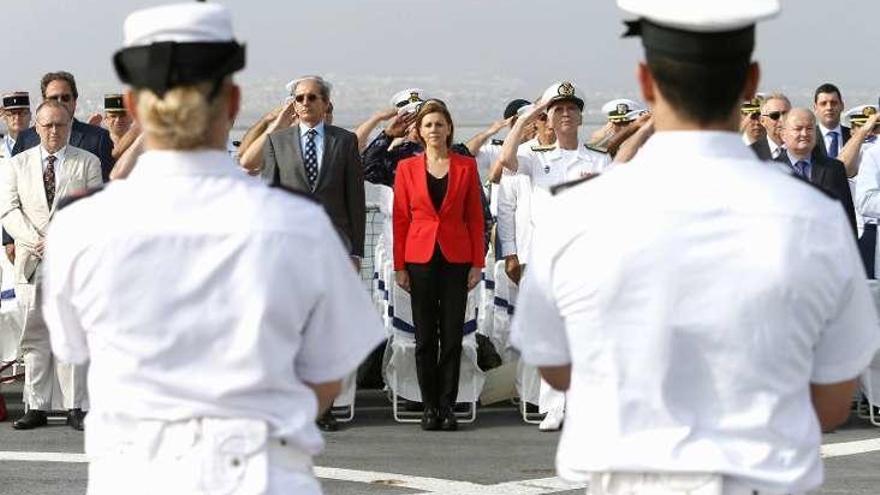 España asume el mando de la Operación Atalanta contra la piratería en el océano Índico