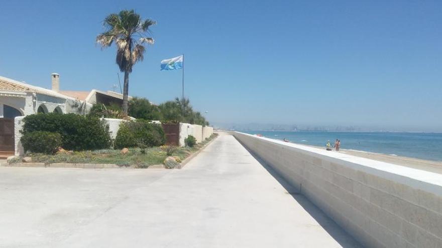 El ayuntamiento concluye las obras de reconstrucción del paseo de la Casbah