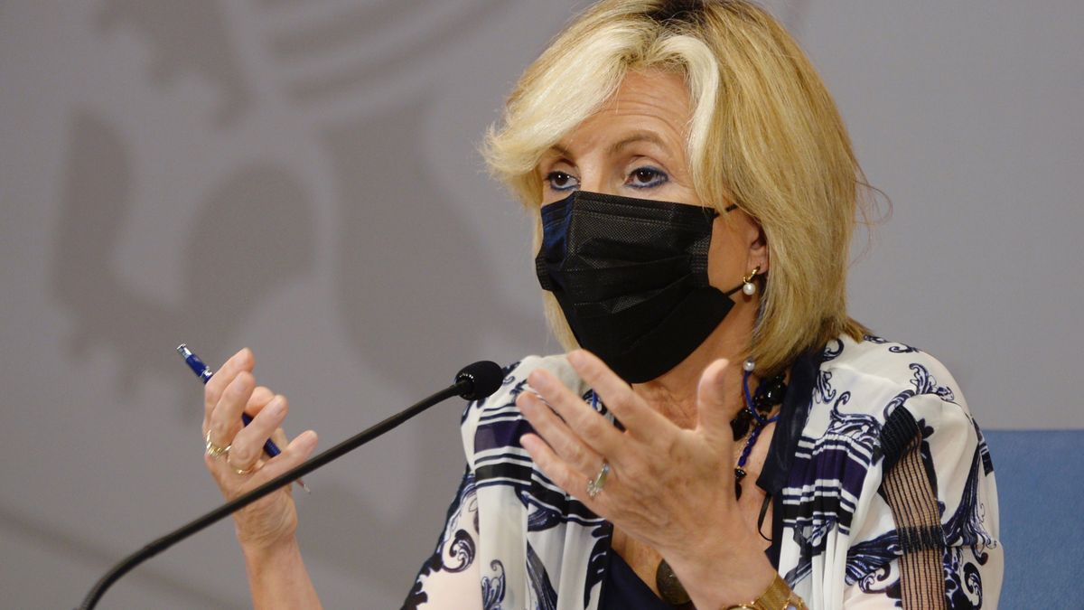 Verónica Casado, consejera de Sanidad de Castilla y León.