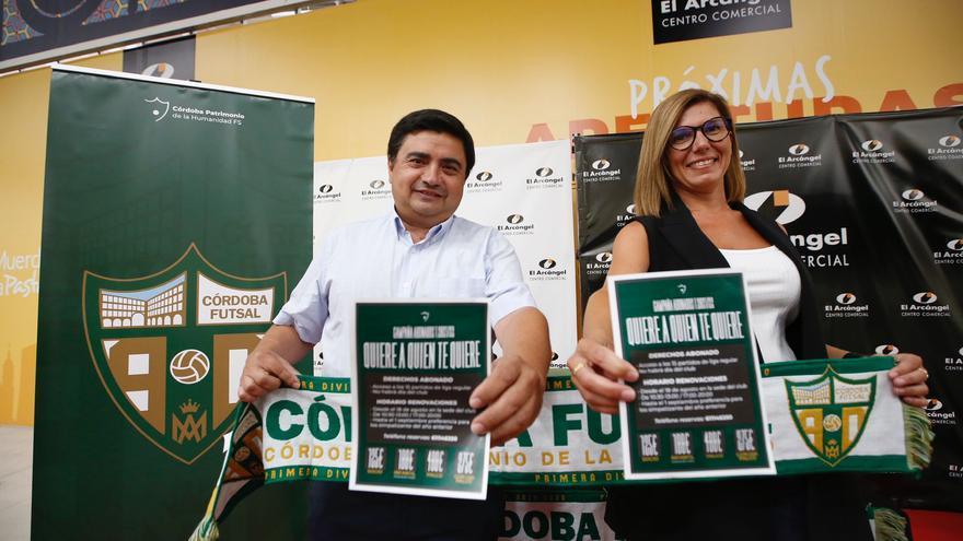 El Córdoba Futsal presenta su campaña de abonados más ilusionante