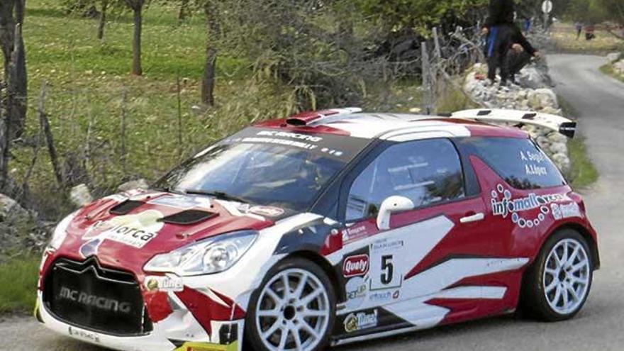 Alberto Seguí gana el Rally de Lloseta