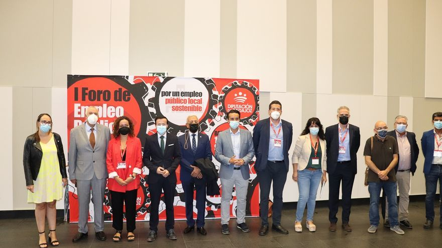 La Diputación de Badajoz prevé reducir la tasa de temporalidad laboral al 7%