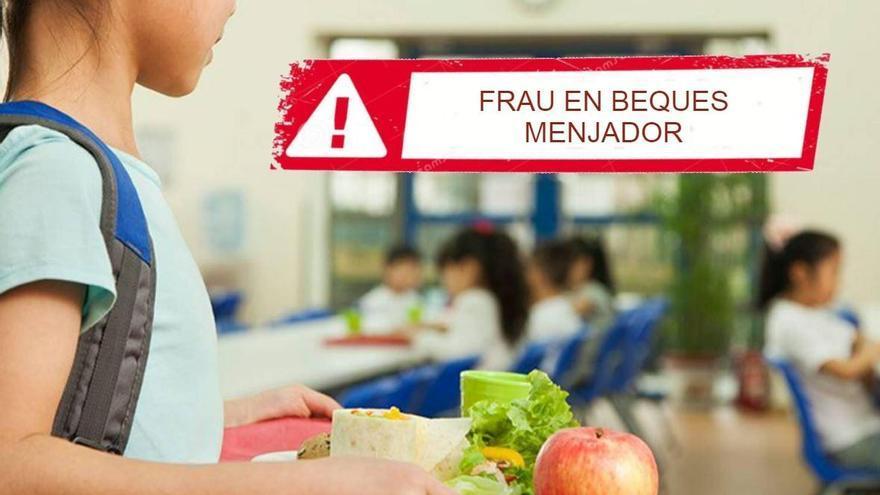 Frau en beques menjador: Empadronen fills fora del municipi per rebre l'ajuda