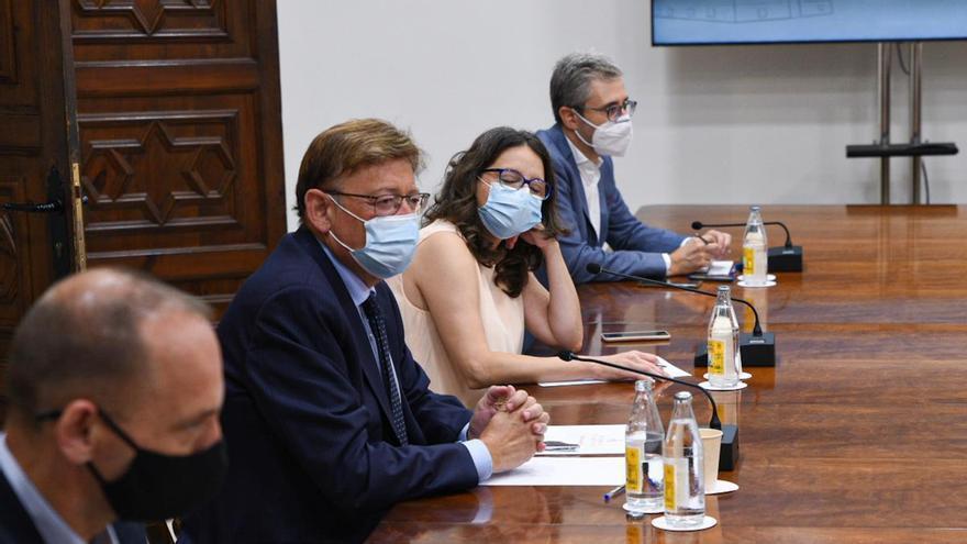 """Puig respalda a Soler frente a Oltra: """"lo deseable"""" es que el presupuesto esté listo antes del 30 de octubre"""