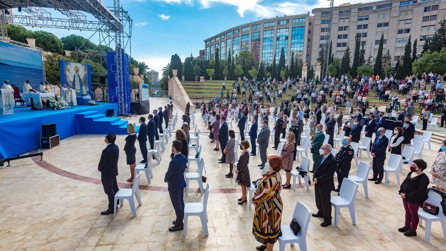 La Comissió de Festes de Benidorm organiza una misa al aire libre por el aniversario de la patrona