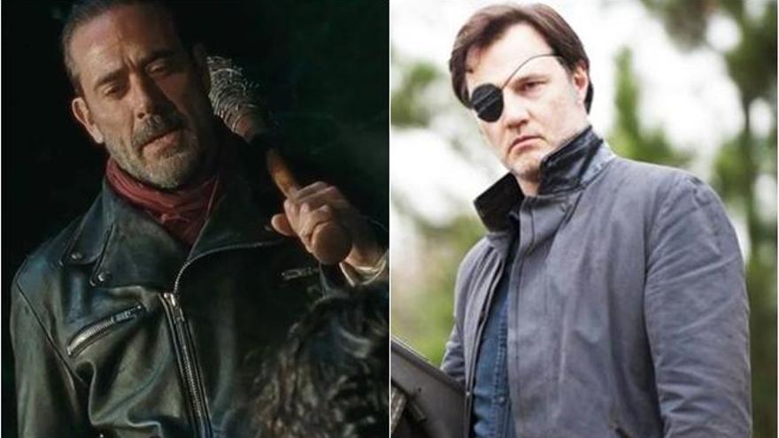 The Walking Dead Negan Vs El Gobernador Quién Ganará Levante Emv