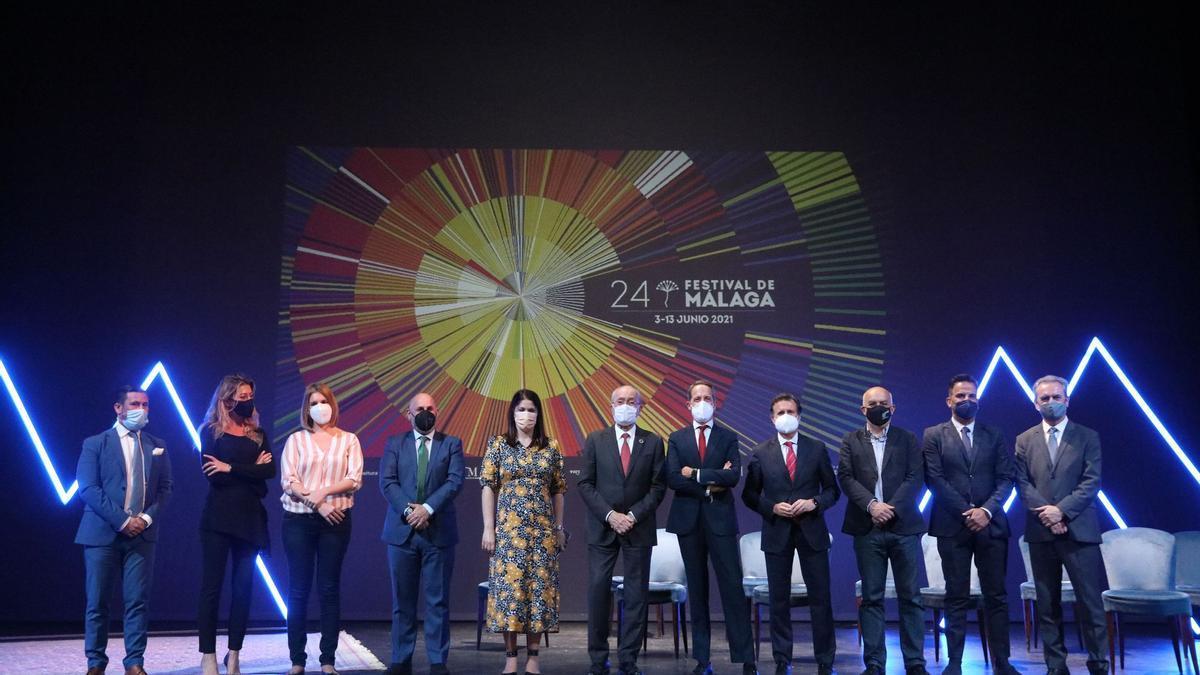 Presentación de la programación del Festival de Málaga de 2021