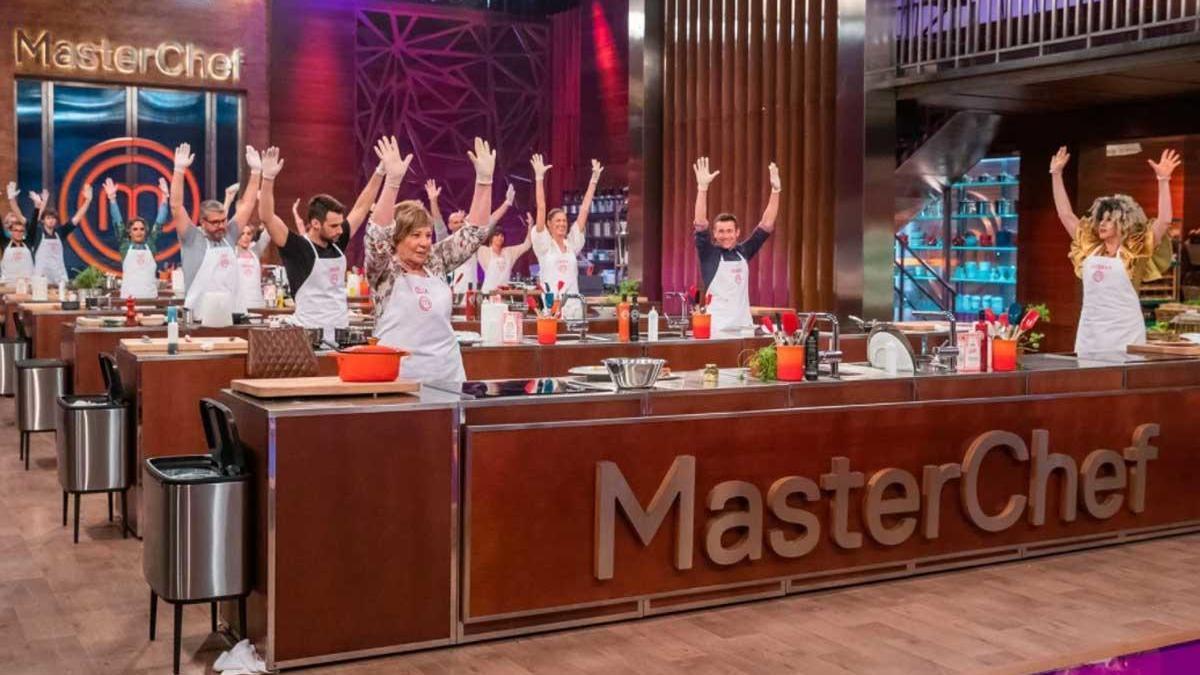 Los aspirantes de 'MasterChef Celebrity 5'.
