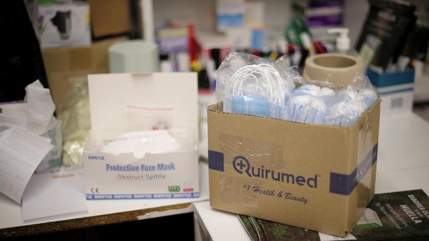 El Gobierno entrega a la Comunidad Valenciana más de 6,4 millones de unidades de material sanitario