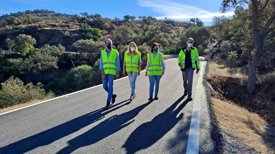 La Junta invierte más de 90.000 euros en la mejora de la carretera A-447 en Fuente Obejuna
