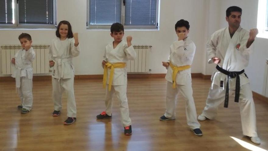 El club Shotokan Benavente comienza a desarrollar sus actividades