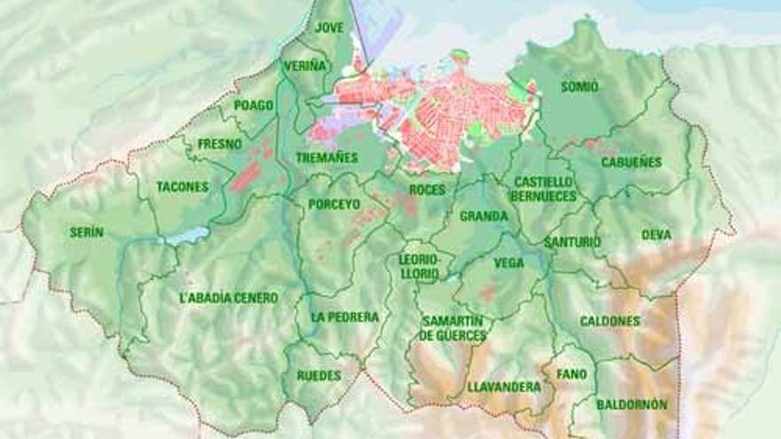 Comienza un apasionante viaje por las 24 parroquias rurales de Gijón: Xixón, a golpe de click:  Cabueñes, la primera parada