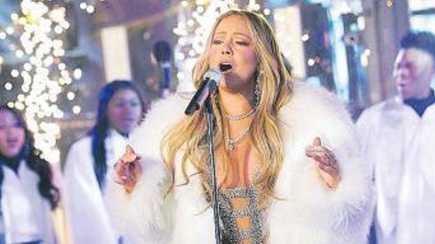 Mariah Carey ficha por Apple en el 25 aniversario de su himno navideño