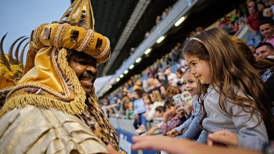 Las entradas para ver a los Reyes Magos en el estadio saldrán a la venta el día 2