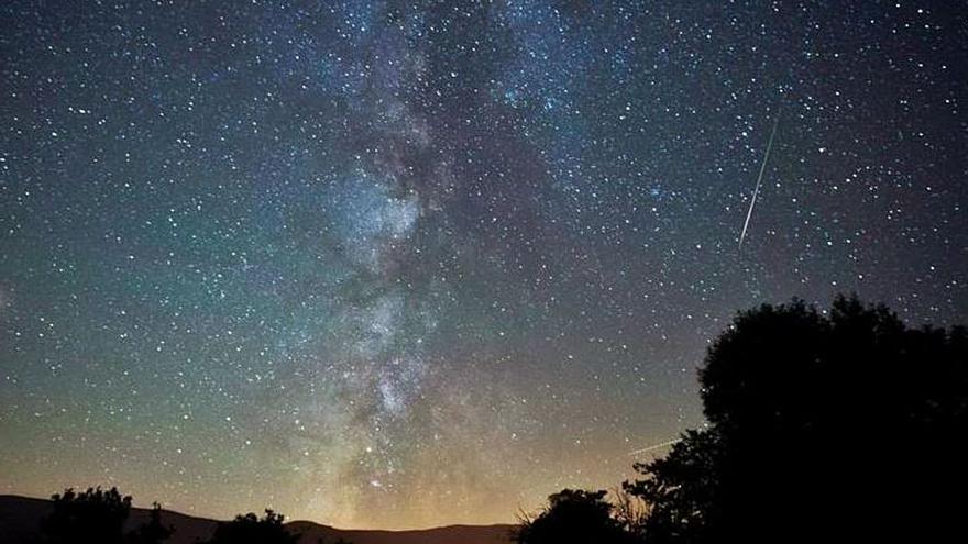 El cielo y la luna se alían este año con Las Perseidas