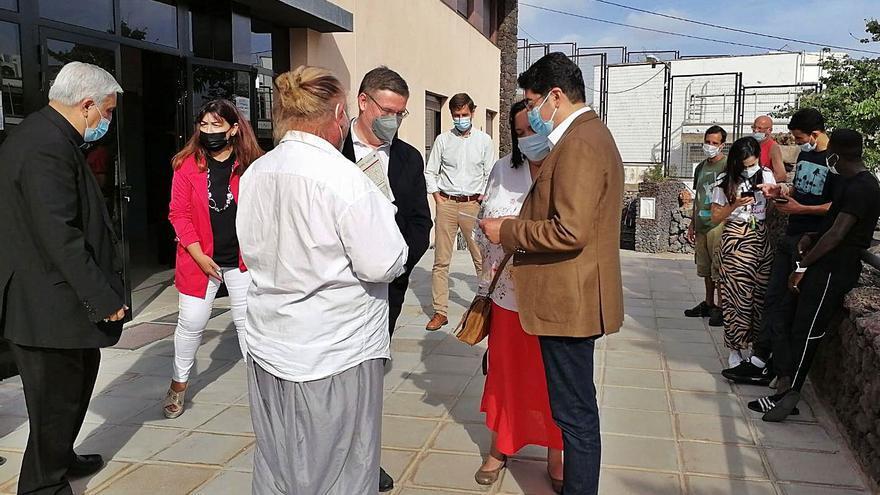 Cáritas Diocesana abre en Arona un centro para 20 personas sin hogar