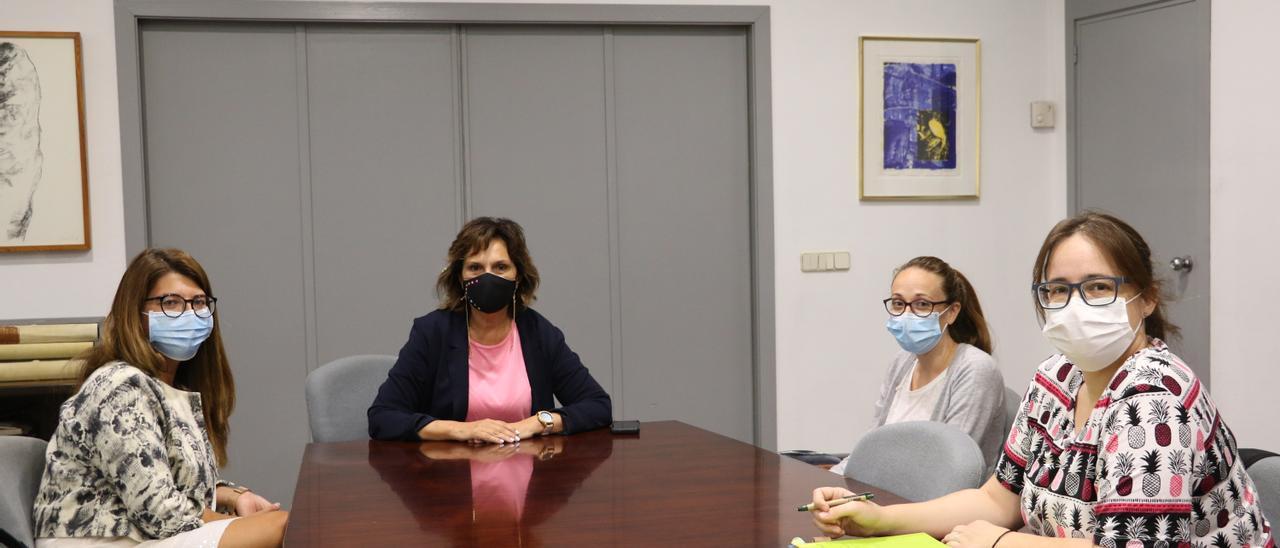 Quart se reúne con el centro de salud