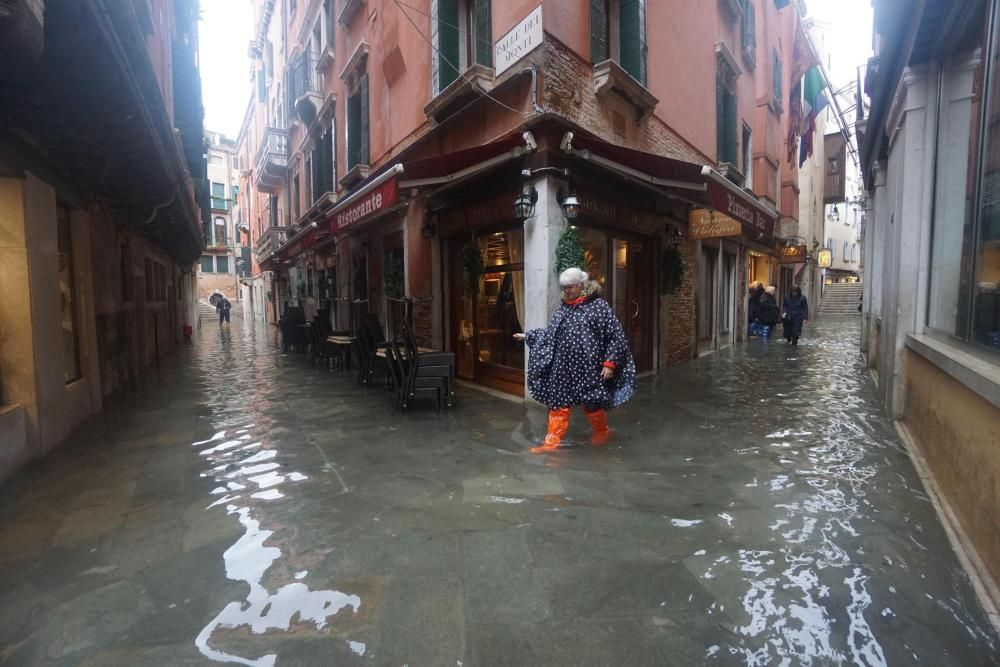 Graves inundaciones en Venecia