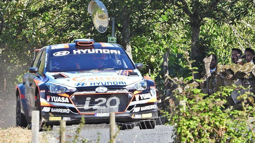 Cohete Suárez no decepciona en el Rally de Ourense