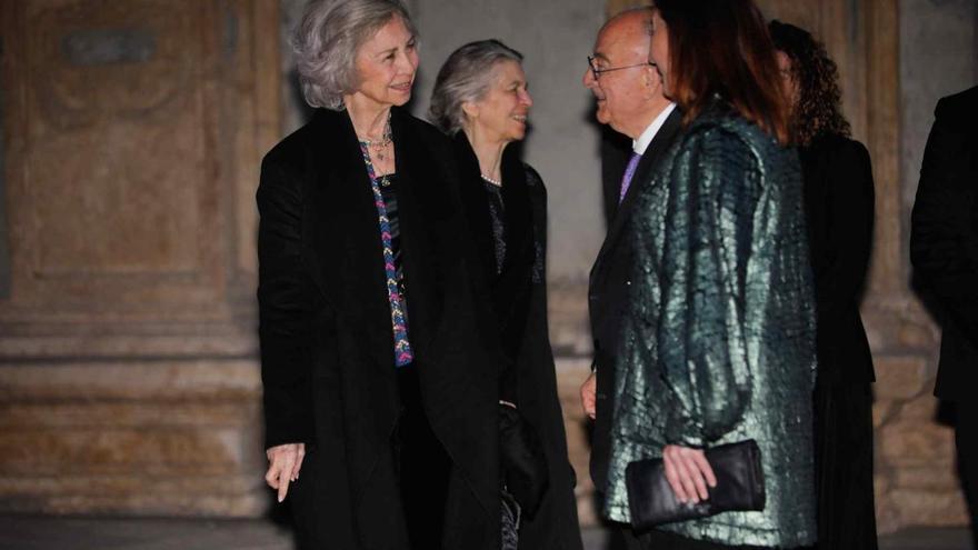 La reina Sofía no asiste a un concierto benéfico al que es habitual en Palma