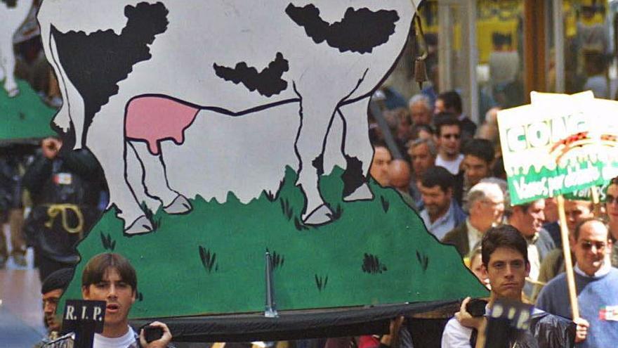 Casi 40 sanciones en Zamora por infracción del precio de la leche