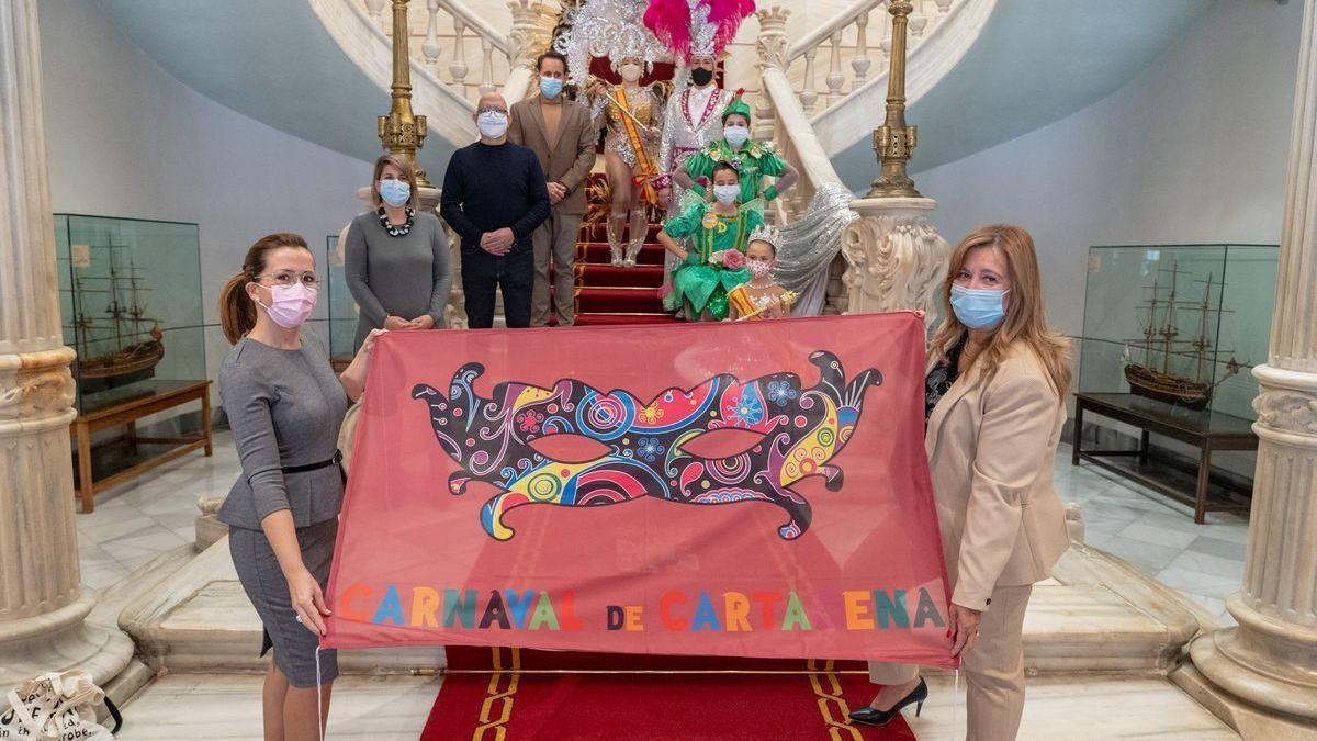 El pregón de la alcaldesa abre un Carnaval atípico y virtual