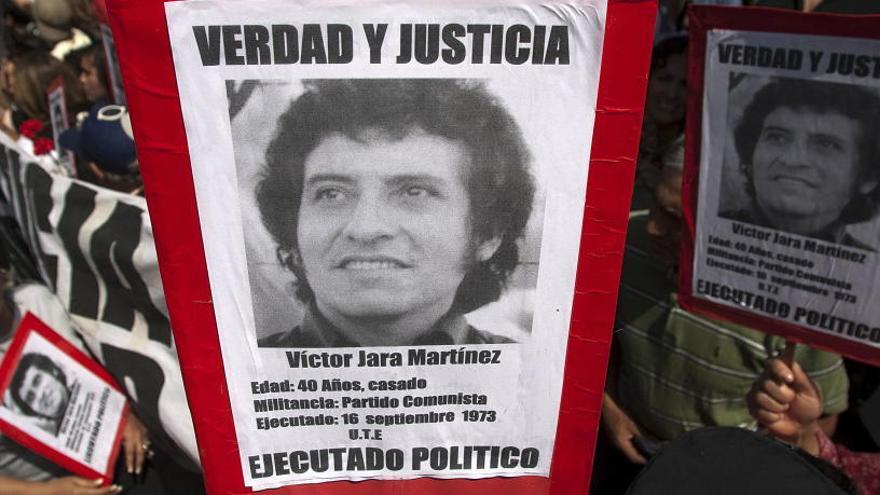 Un tribunal de Chile condena a nueve exmilitares por el asesinato de Víctor Jara