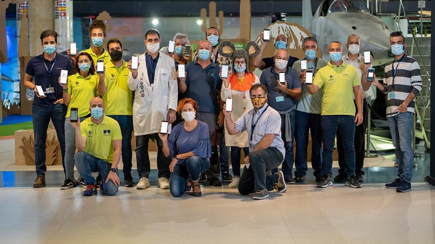 El Museo Elder implanta por primera vez en España lectores de código QR del certificado vacunal del covid