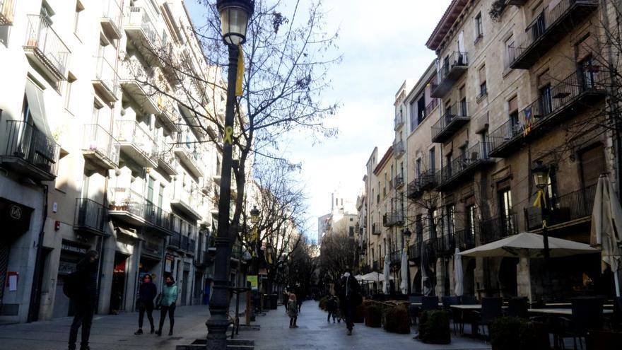Els comerciants del centre de Girona alerten d'un repunt de robatoris