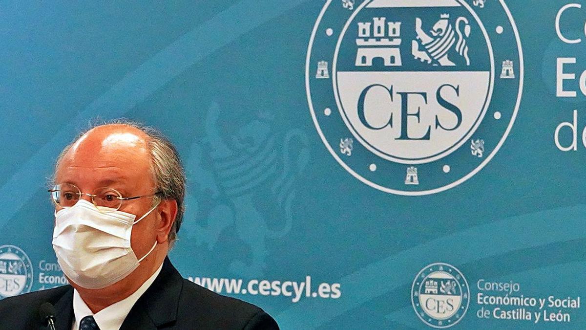 El presidente del Consejo Económico y Social de Castilla y León, Enrique Cabero, en una foto de archivo. | Ical